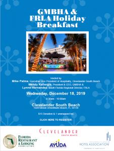 Holiday Breakfast at Clevelander 12.18.2019