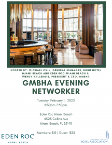 GMBHA Evening Networker