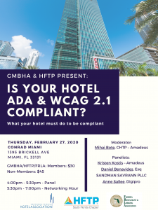 GMBHA & HFTP Present ADA Compliant Panel