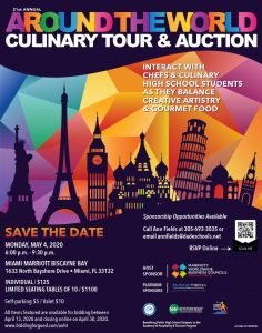Around the World Culinary Tour & Auction 5.4.2020