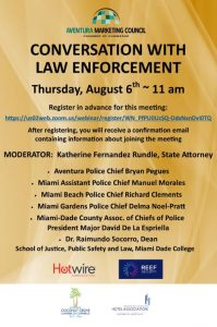 Conversation with Law Enforcement 08.06.20
