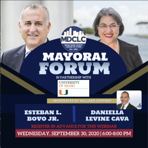 Mayoral Forum 9.30