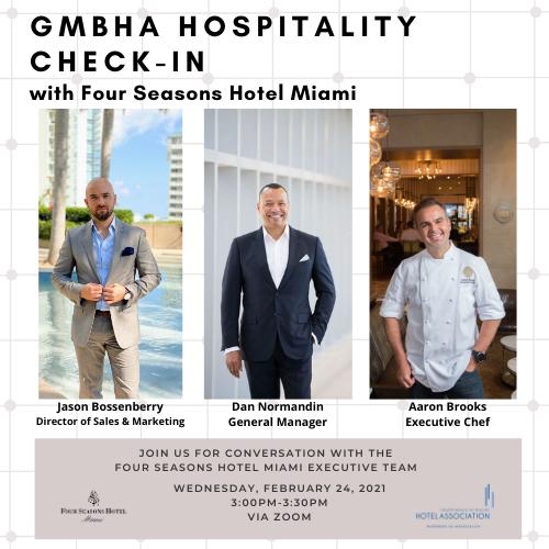 Social GMBHA Hospitality Check-in FS Miami