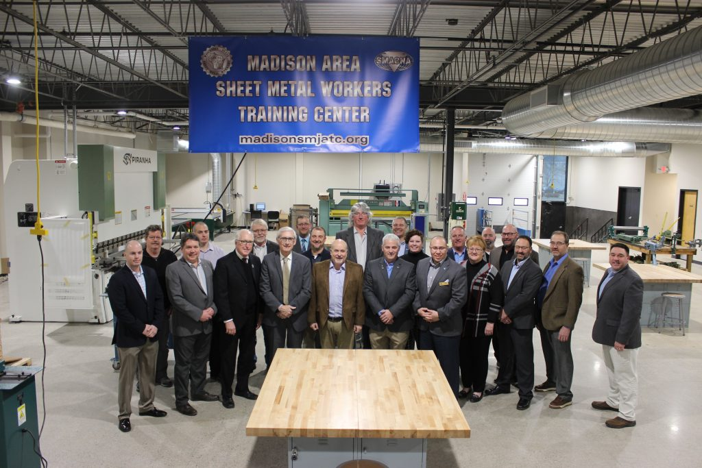 SMART Training School Tour - Governor Evers - Group Shot