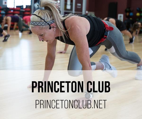 PRINCTON CLUB buttons
