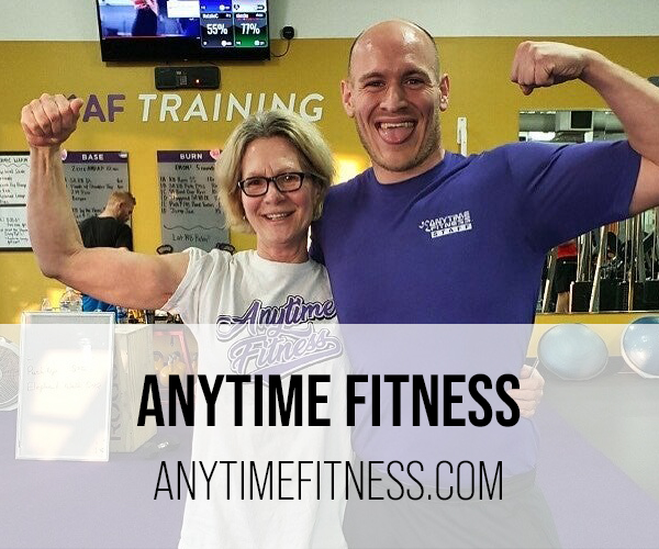 anytime fitness button