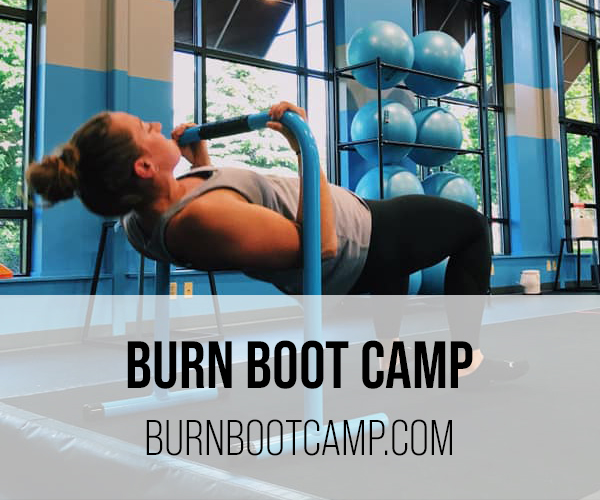 burn boot camp buttons
