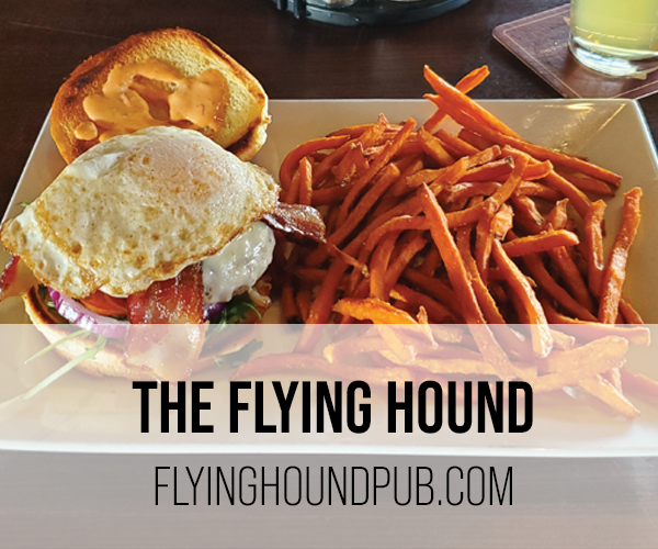 flying hound button
