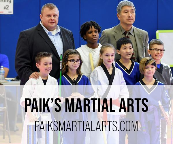paik's martial arts button