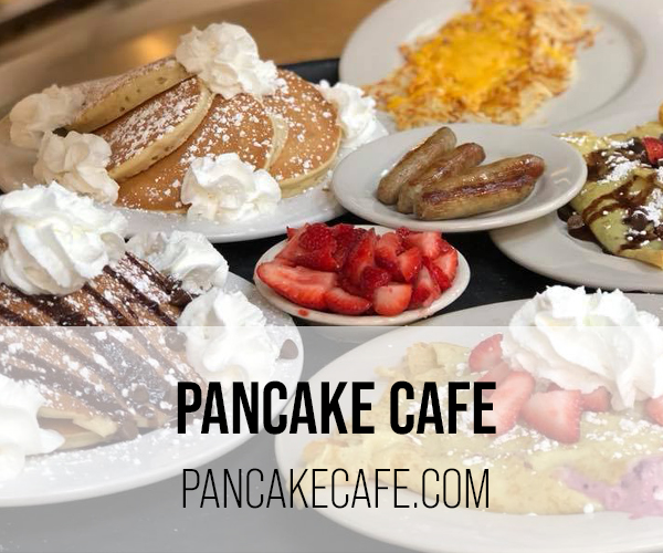 pancake cafe button