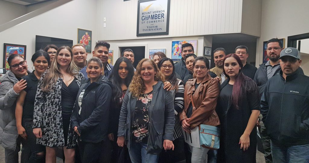 Latino Business Leaders group photo