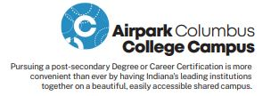 College Airport Campus Logo text