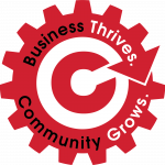 Business Thrives Gear Logo
