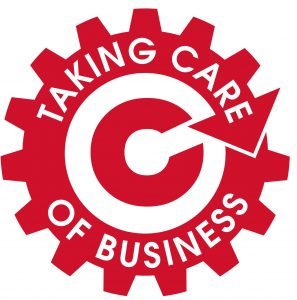 taking care of business logo