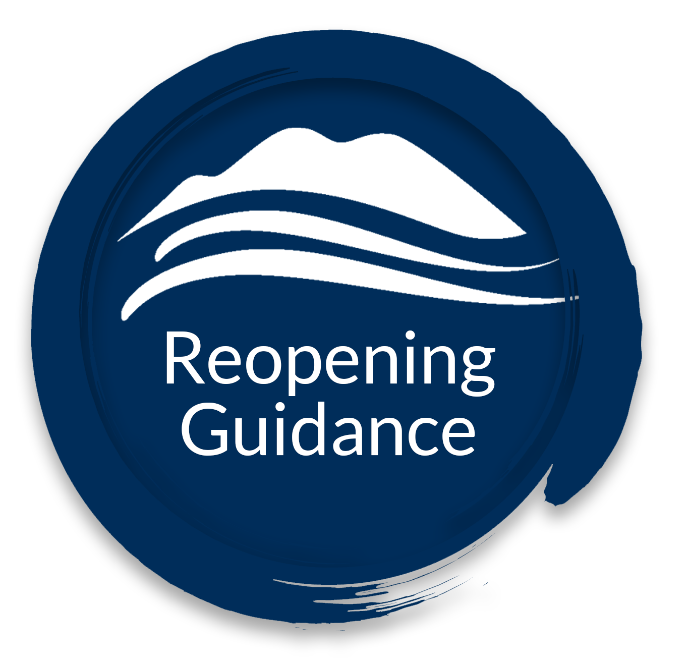 Reopening Guidance button