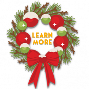 wreath button