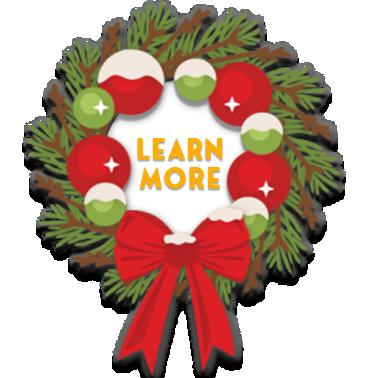 wreath button