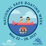 Safe Boating Week canoe