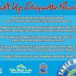 Raft Up Etiquette Basics