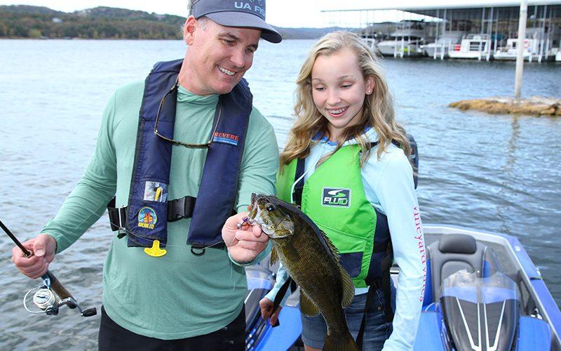 catch a fish table rock lake
