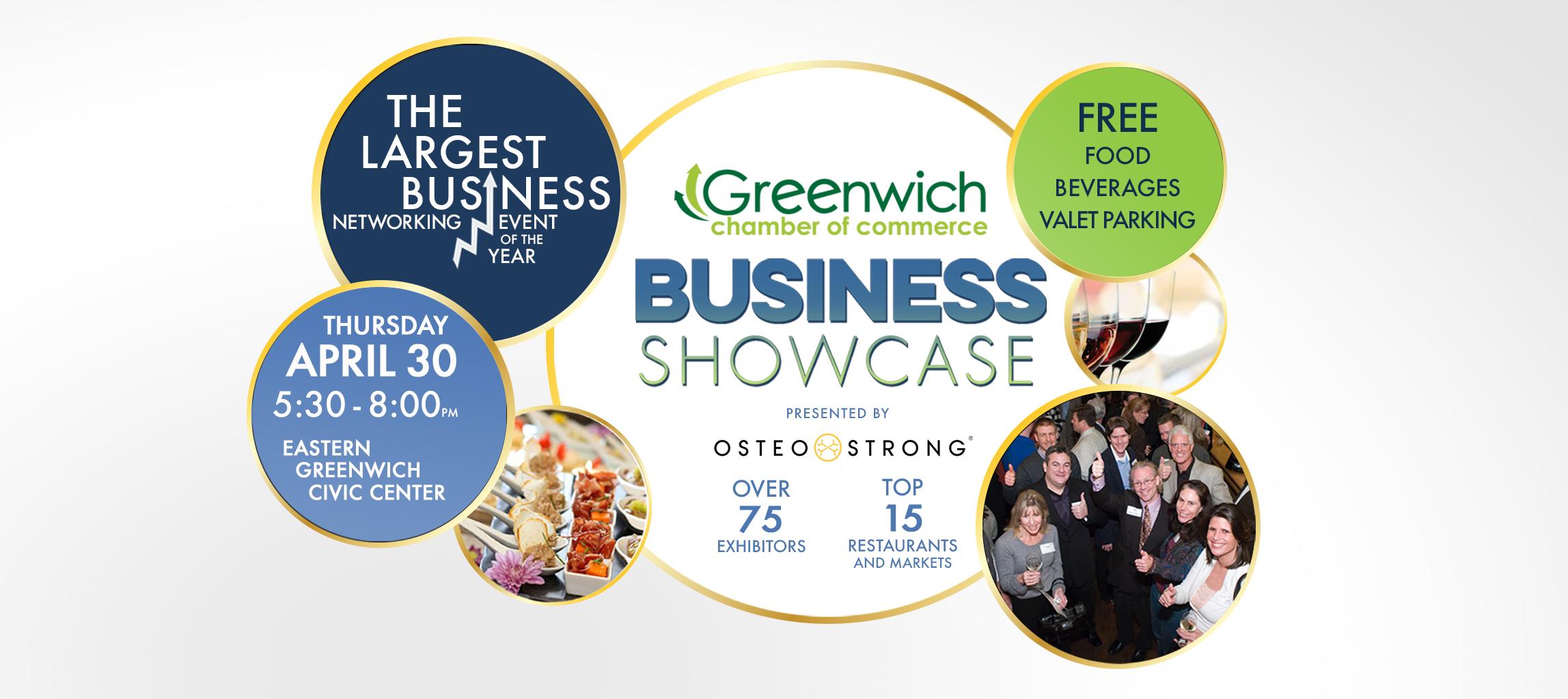 2020 Geenwich Chamber Business Showcase Logo