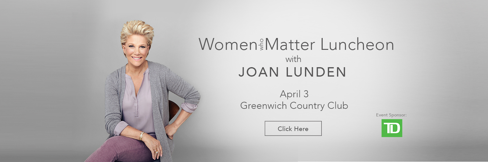 Women Who Matter With Joan Lunden