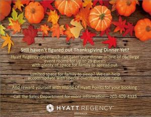 Hyatt Greenwich Thanksgiving