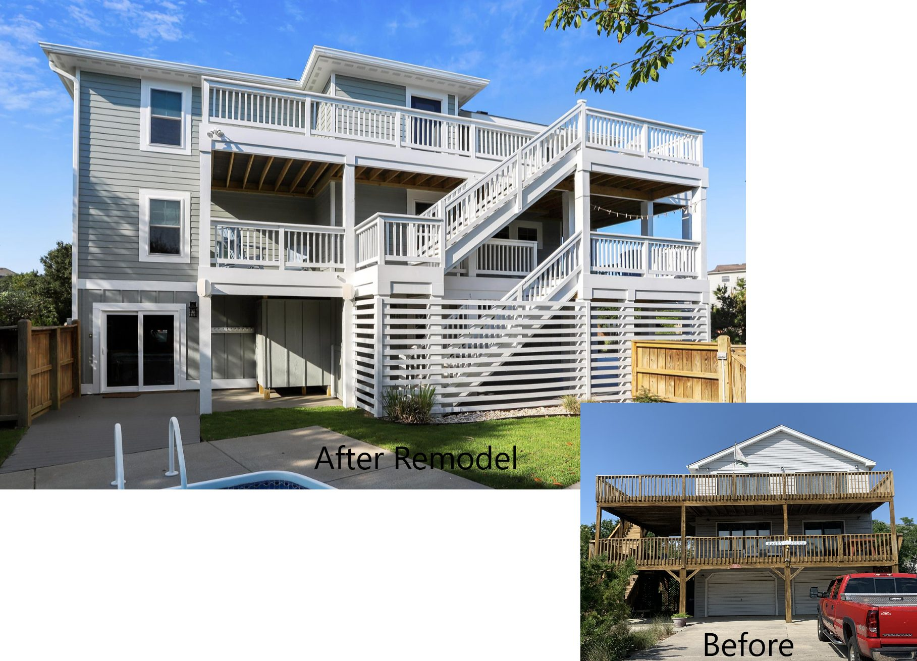 Sandmark 151 Main Before and After