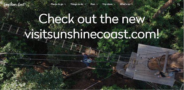 Get seen on the new Visit Sunshine Coast Website