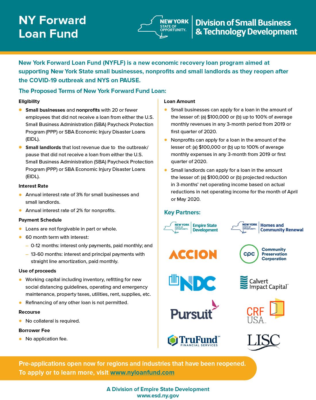 NY Forward Loan Fund Flyer May27_2020_v2