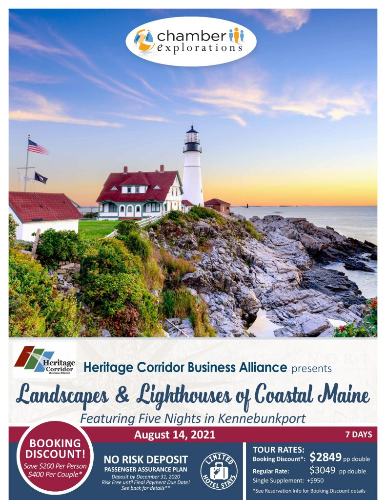 Chamber 2021 Travel Trip (Coastal Maine)