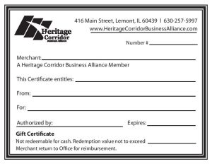 Purchase Chamber Gift Certificates Here