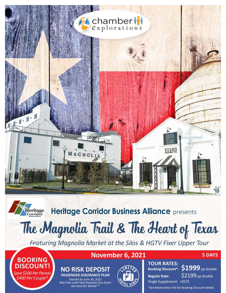 The Magnolia Trail & The Heart of Texas