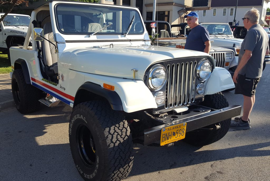 1984 Postal Jeep (Trophy Winner-Tim Schelk)