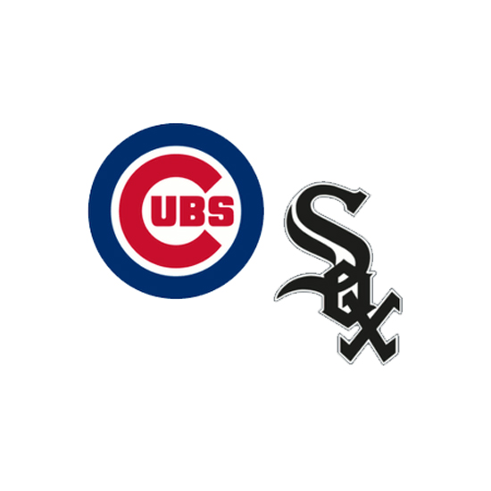 Cubs and White Sox logo
