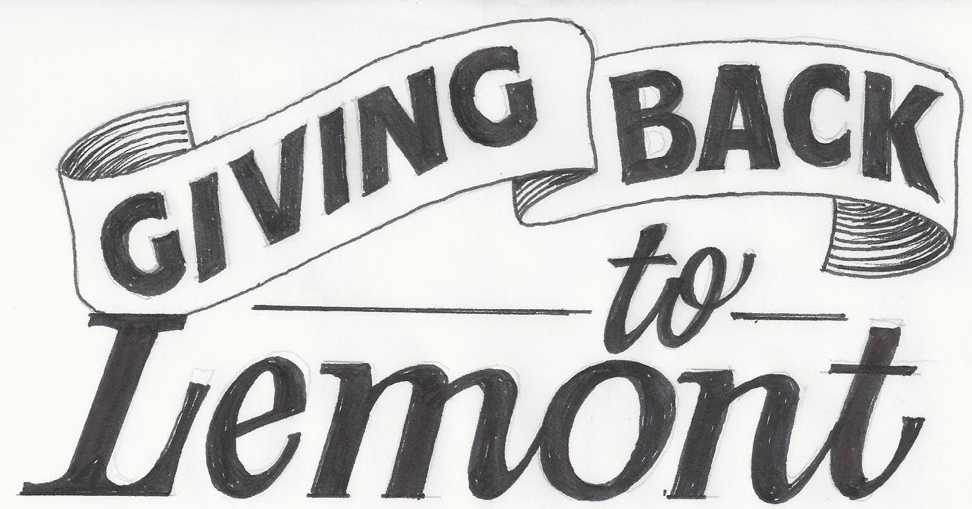 Giving Back to Lemont logo
