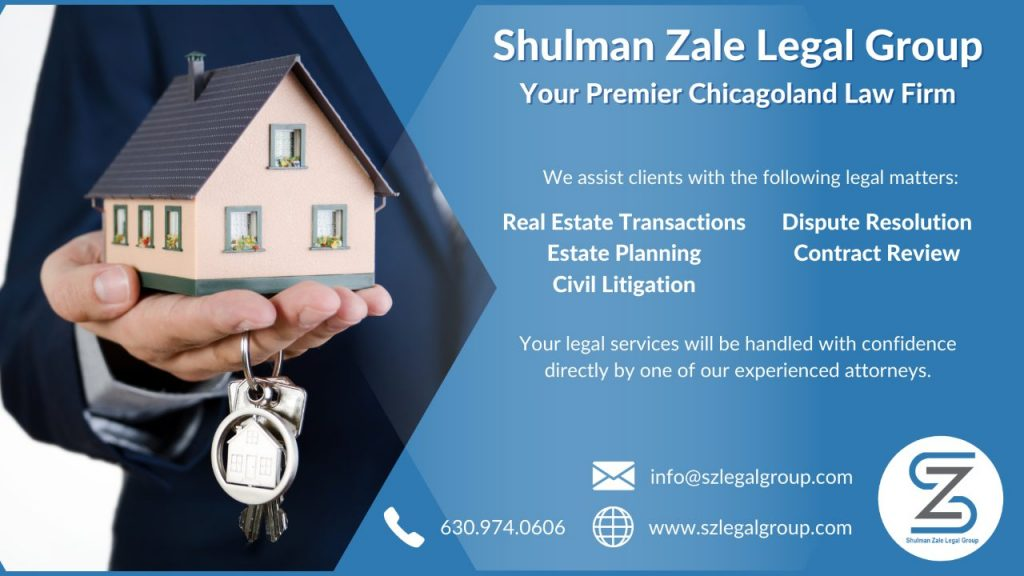 Hand holding a house - graphic for Shulman Zale Legal Group
