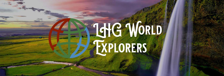 LHG World Explorers logo