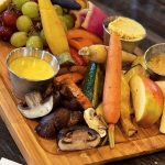 Grilled veggie charcuterie
